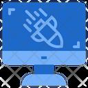 Ddos Cybercrime Cyber Attack Danger Icon