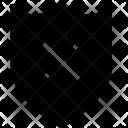 Deactivate shield Icon