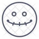 Dead Face Emotion Icon