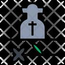 Dead Commemorate Coronavirus Icon