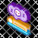 Dead Man Person Icon