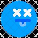 Dead Death Emoji Icon