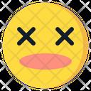Dead Emoji Emoticon Icon