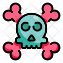 Dead Dangerous Skull Icon
