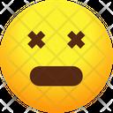 Dead Emoji Emotion Icon