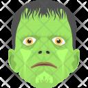Dead Face Halloween Icon