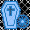 Dead From Coronavirus Icon