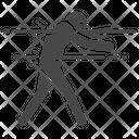 Dead Man Walking Shot Icon