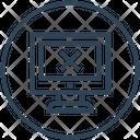 Dead Monitor Icon