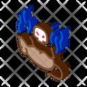 Rat Dead Animal Icon