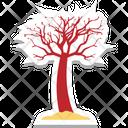 Dead Tree Halloween Tree Frightening Icon