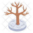 Dead Tree Leafless Timber Leafless Tree Icon