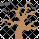 Halloween Tree Dead Icon