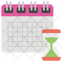 Deadline Schedule Calendar Icon