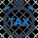 Deadline Tax Return Icon