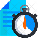 Deadline Workload Work Pressure Icon