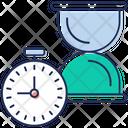 Deadline Due Date Premium Timeline Icon