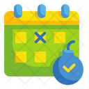 Deadline Calendar Time Icon