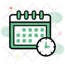 Deadline Time Limit Target Date Icon