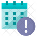 Deadline Calender Date Icon