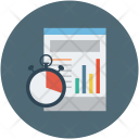 Deadline Timer Chart Icon