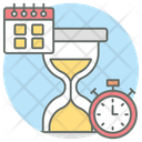 Work Deadline Due Date Time Limit Icon