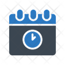 Deadline Stopwatch Calendar Icon