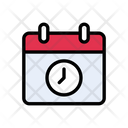 Deadline Time Calendar Icon