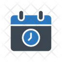 Deadline Time Calendar Icon