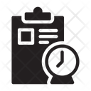 Deadline Clipboard Development Icon