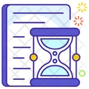 Time Limit Target Date Deadline Icon