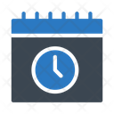 Deadline Schedule Timetable Icon