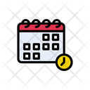 Deadline Calendar Time Icon