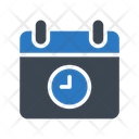 Deadline Stopwatch Clock Icon