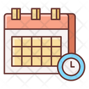 Deadline Appointment Booking Icon