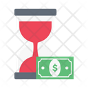 Hourglass Stopwatch Transaction Icon