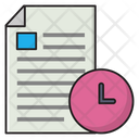Deadline Stopwatch Files Icon