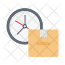 Deadline Delivery Logistics Icon