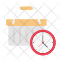 Cart Deadline Shopping Icon