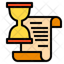 Document Time Finance Icon