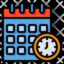 Calendar Meeting Period Icon