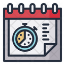 Deadline Time Date Icon
