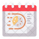 Deadline Date Schedule Icon