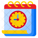 Deadline Time Day Icon
