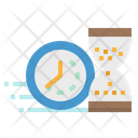 Deadline Time Clock Icon