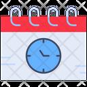 Deadline Events Schedule Icon