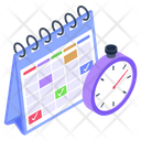 Timeline Deadline Time Limit Icon