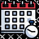 Deadline Timer Schedule Icon