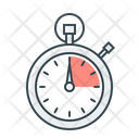 Management Performance Stopwatch Icon