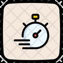 Deadline Stopwatch Timer Icon